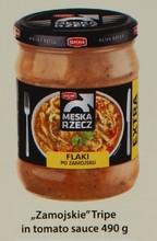 Tripe in tomato sauce