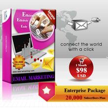 Food directory e-commerce website design & Email Marketing Platform