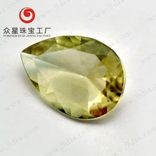 Hot Sale Good Quality Pear Shape 7*5 Natural zultanite Stone