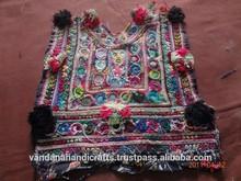 Vintage banjara Neck old fabric in india
