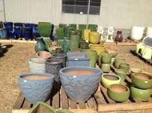 Fiberglass pots planters jars statues fountain Hoppers