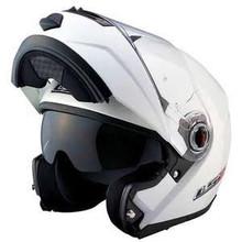LS2 Helmets FF386 Modular Motorcycle Helmet Solid Pearl White X-Small