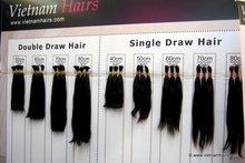 100% Vietnam virgin hair, top grade wholesale virgin Vietnam hair extension