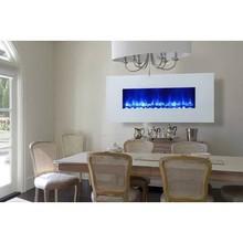 Dynasty Miami LED Wall Mount Electric Fireplace EF69-WGR