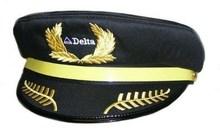 nova chinesa daron delta airlines chapéu de piloto