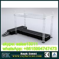 aluminum performance assembly aluminum stage truss ,aluminum stage folding