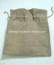 Jute Drawstring pouch