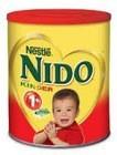 นมผงทารกaptamil, ฟริส, nan, และครีมผงเต็มนมnido