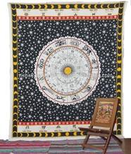 High-Quality Tapestries Rashi Printed Mandala Screen Print Tapestry Ethnic Unique Wall Hangings