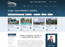 Real Estate & Insurance Company Website design and development