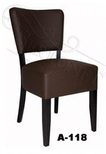 Europe design wood restaurant chairs - restaurant furniture