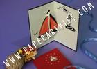 3D Pop Up Greeting Card The sailer