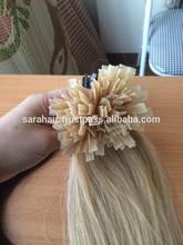Cheap price 100% Human Hair Keratin Glue Italian Pre Bonded Hair Extensions