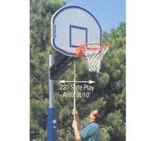 Bison Quik Change Adjustable Playground Basketball System PR12