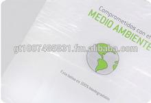 Biodegradable bags, Biobased bags, Environmentally Friendly bags, bio bags, biohybrid bags