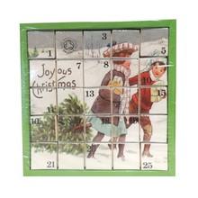 English Tea Shop X'mas Advent Calendar Joyous Christmas Pyramid Tea Bags Pack of 2, Total 50 Tea Bags