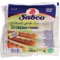 halal frozen chicken frank sausage