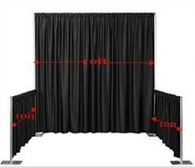 Allstar Event Decoration pipe and drape system portable exhibition booth design ideas