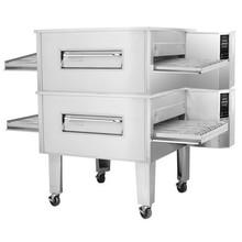 Zesto (CG4824-2) - 84 Gas Double Stacked Conveyor Oven