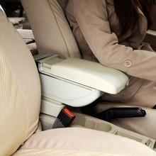 Genuine leather car arm rest Box console box case for Hyundai Elantra 2004-2007
