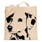 Dyed cotton dog bag