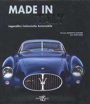 Made in Italy. Legendare Italienische Automobile.