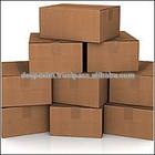 eBay shipping corrugated box