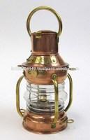 Marine Decoration Lamps, Nautical Ship Lantern, Copper Anchor Marine Ship Lamp, Item number Sai-1961