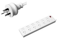 Australia extension power strip extension socket lead power bar
