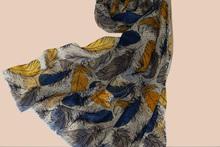 1005 wool High Quality Ladies Scarves with printed Design