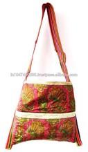 Vintage Banjara fashionable , silk bags, Fabric Hand Embroidered Bags