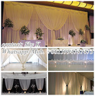 telescopic pipe and drape and drape support for exhibition booth decoration