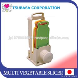 2015 kitchen appliances import vegetable and fruits slicer cutter chopper dicer shredder as seen on tv made in Japan kitchenware