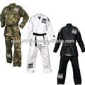 Por encargo de jiu jitsu uniformes/negro uniformes de jiu jitsu/camo jiu jitsu traje
