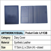 PU Leather Diary cover