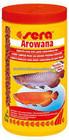 sera fish food arowana red