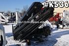 K536 - 2004 HIAB 288E-7 HIPRO; 10.5 TON UNMOUNTED KNUCKLEBOOM TRUCK CRANE
