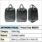 PU Leather Golfer Bag