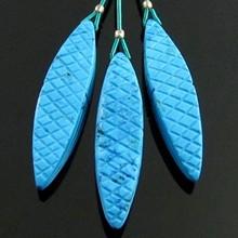 Turquoise in stylist Shape Gem Set
