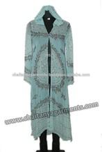 long chiffon beaded kaftan dress and kaftan evening dresses