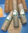 Wood sawdust briquettes - compressed