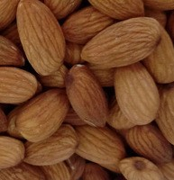 Super Quality Roasted Almonds (Unsalted) - (500g)