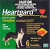 Heartgard Chewables Plus Green