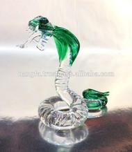 Thai Cobra Snake Glass Animal For Wholesale