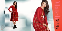 EXOTIC--PASHMINA EMBROIDERY KURTIS