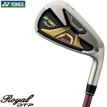 Yonex Royal DTP Iron set of single item (#5, #6, AW, AS, SW), Rexis XELA Graphite shafts specifications DTP iron