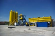 Concrete batching plant Hartmann Powermix Mobil-100