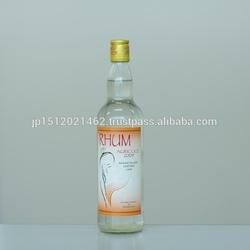 Safe white rhum agricole distilled spirits made in Laos