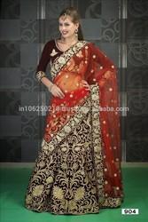 Indian bridal lehenga Heavy designer bridal lehenga saree Bridal lehenga for sale R5597