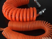 2015 hot China industrial Fushi 10M 10mm x 6.5mm pu reinforced coil hose